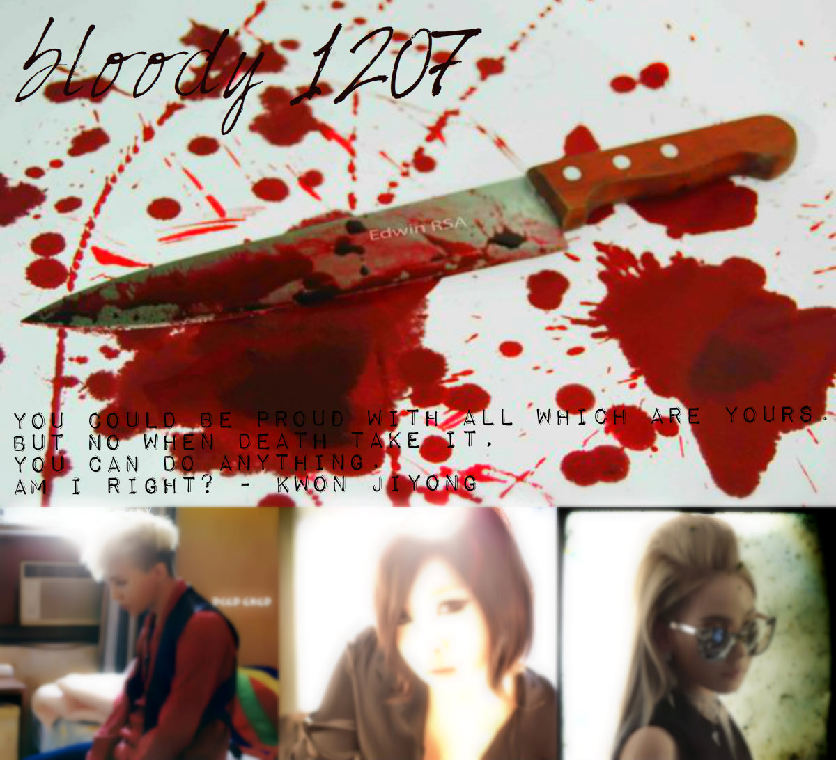 Casts: Kwon Jiyong (G Dragon BIGBANG); Jenny Kim (YG Girl).