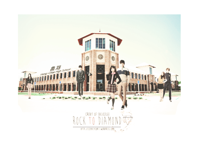 Rock to diamond white SCHOOL copy