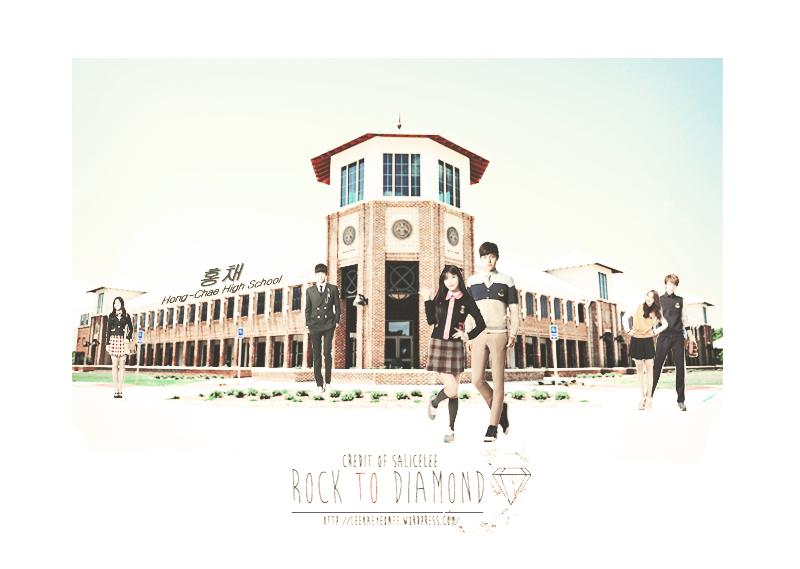 Rock to diamond white SCHOOL copy