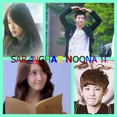 Saranghae, Noona! (Poster)