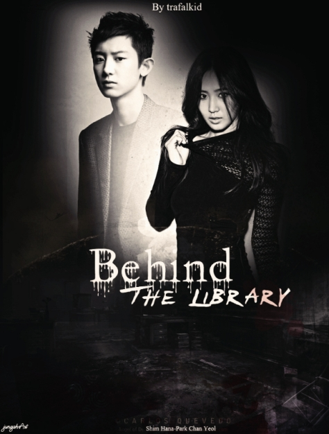 behind the library