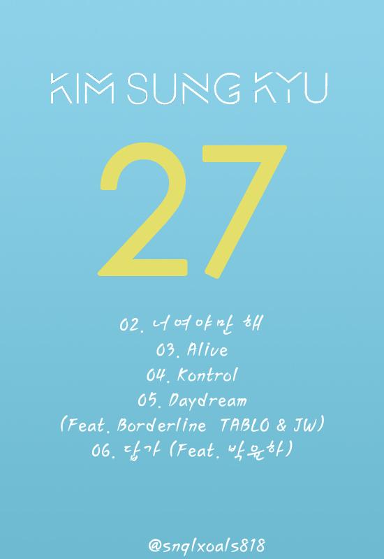 Kim Sungkyu - 27 - snqlxoals818