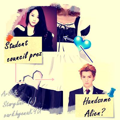 Student Council President x Handsome Alien