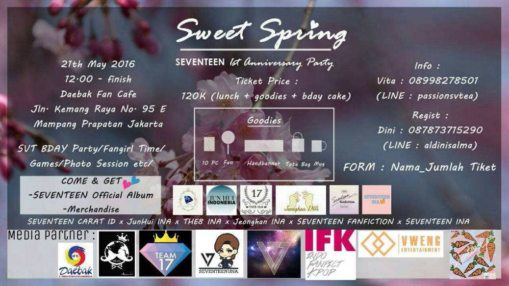 sweet spring mini party