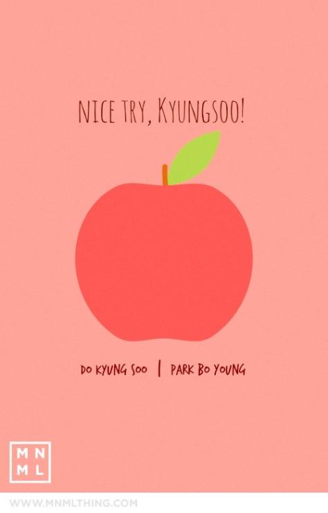 Nice Try, Kyungsoo!