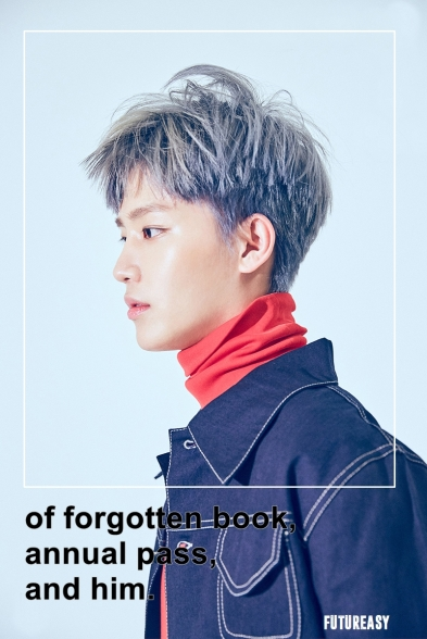 of forgotten book, annual pass, and him taeil ver